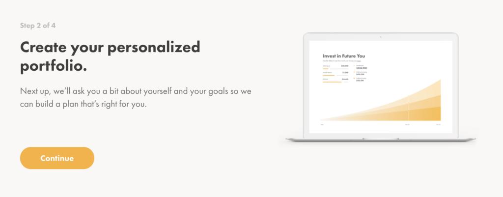 make money while you sleep personalized portfolio