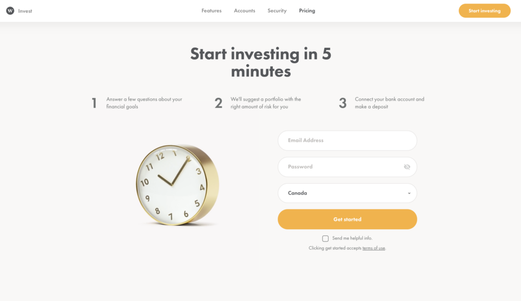 make money while you sleep wealthsimple sign up