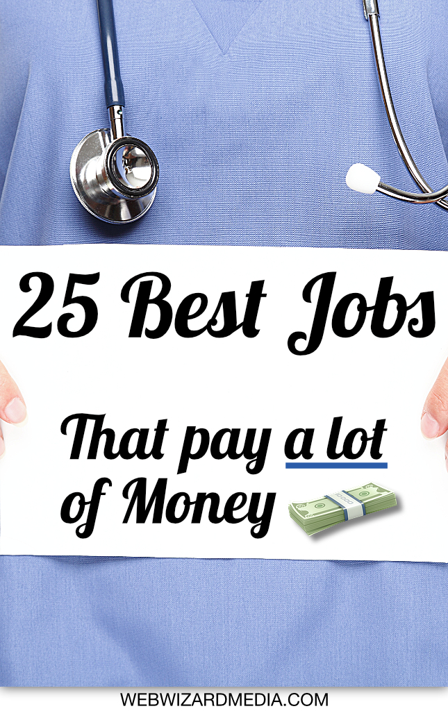 jobs that pay a lot of money